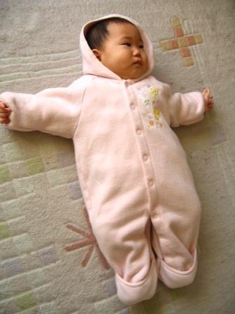 赤ちゃんの衣類リスト・秋冬