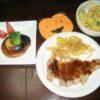 2007年ハロウィン・かぼちゃサラダのレシピ