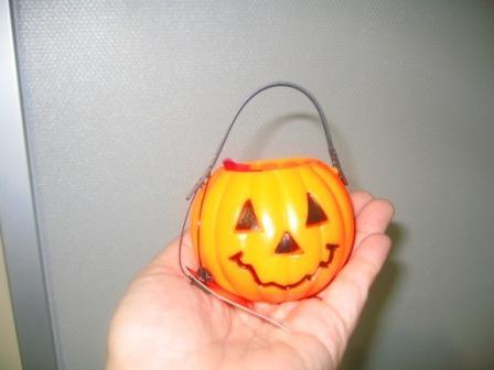 かぼちゃの容器