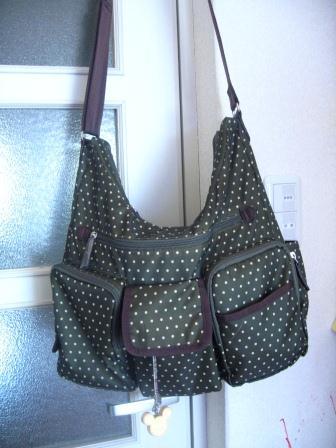 やっと出会ったマザーズバッグはななめがけ&使用済みおむつポケットつきで使える