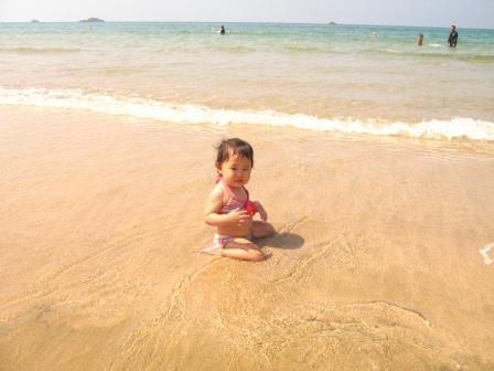 2012夏旅行【2】久美浜で海水浴