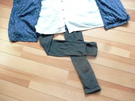 夏のトレンカ着用を快適に~蒸れないトレンカを履いてみた