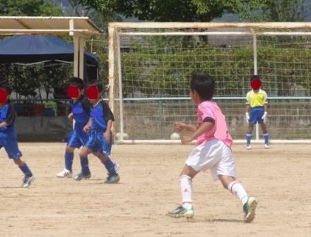 サッカーの試合に行ってきました