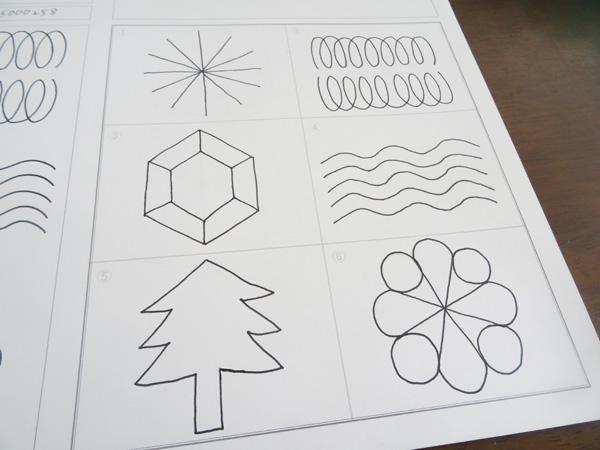【さし絵ライター養成講座ドキュメント】第一回の受講開始です。まずは線と図から。