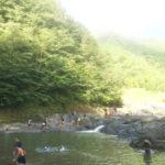ラグビークラブのキャンプに参加in野迫川村【2016年の夏休み】