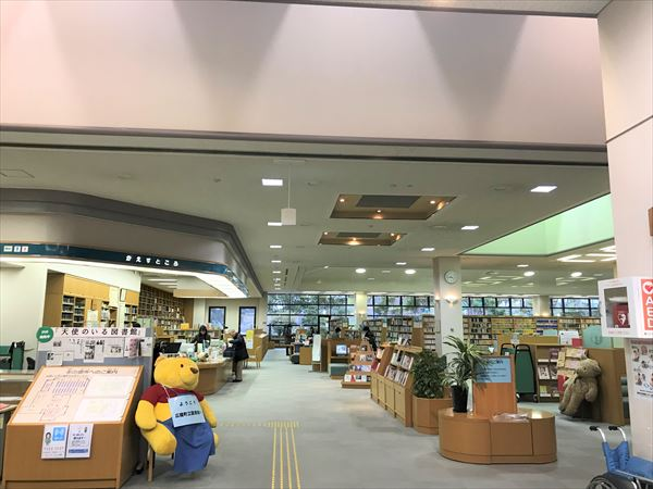 広陵町の図書館