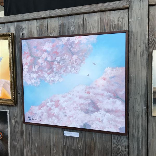 咲ねえちゃんお気に入りの桜の絵