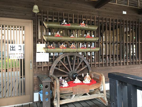 町家のカフェ・nokonokoのおひな様