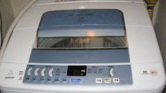 古いほうの洗濯機
