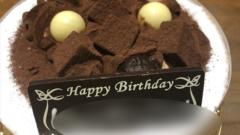次男末娘誕生日ケーキ