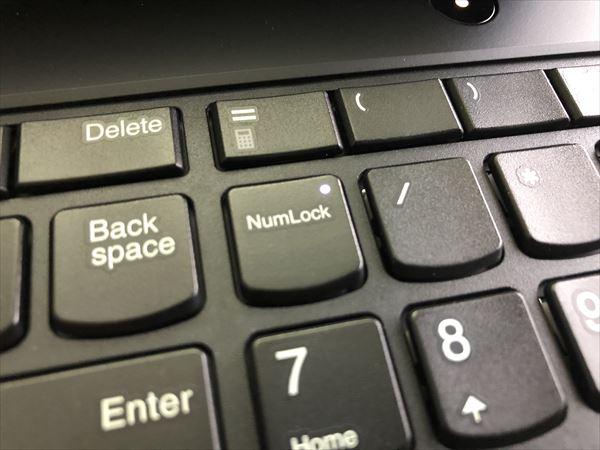 パソコンのキー