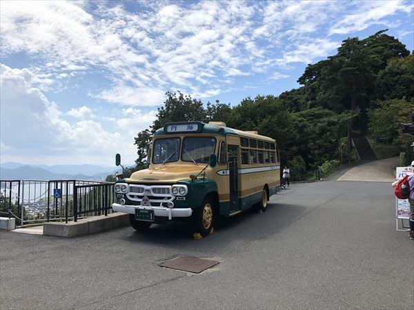 天橋立のバス